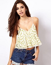 ASOS Cami with Embellished Scribble