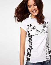 ASOS PETITE Exclusive Giraffe T-Shirt