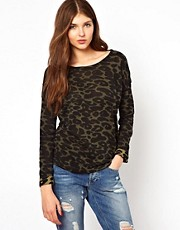 Vila Animal Print Sweat