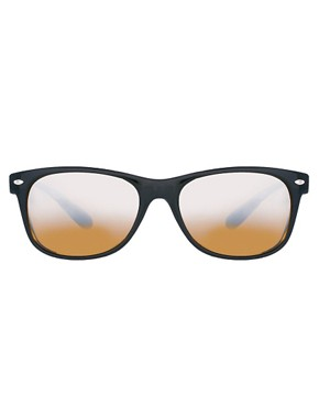 Image 2 ofASOS Wayfarer with Mirror Lens