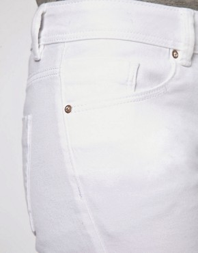 Image 3 of ASOS Elgin Supersoft Skinny Jeans in White