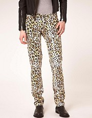 One Teaspoon Rock And Roller Leopard Jeans