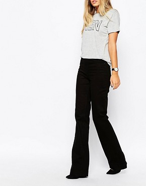 Whistles High Rise Flared Jeans