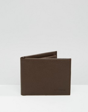 Royal RepubliQ Fuze Leather Wallet In Brown