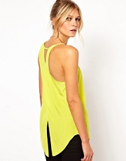 ASOS Vest with Assymetric Straps and Wrap Back