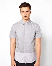 Camisa con panel en contraste de Original Penguin