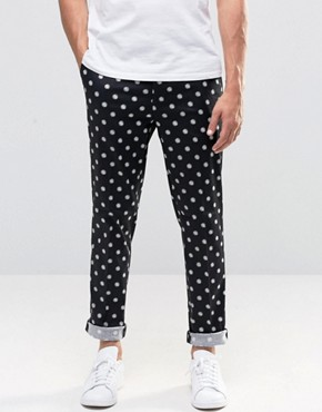ASOS Skinny Smart Trousers In Print