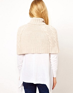 Image 2 ofOasis Cropped Chunky Cape