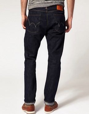 Image 2 ofEdwin Hon Selvage Tapered Straight Jeans
