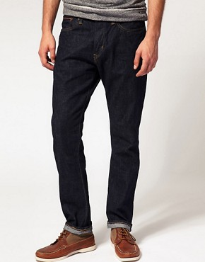 Image 1 ofEdwin Hon Selvage Tapered Straight Jeans