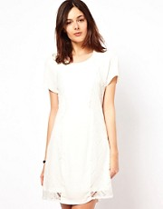 Vila Lace Panel Dress