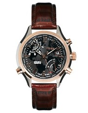Timex Intelligent Quartz Leather Watch