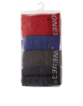 Image 4 ofJack and Jones 4 pack Trunks