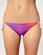Marc By Marc Jacobs Color Block String Bikini Brief