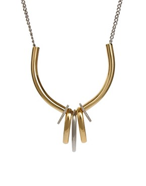 Image 1 of Giles & Brother Trove Ring Necklace
