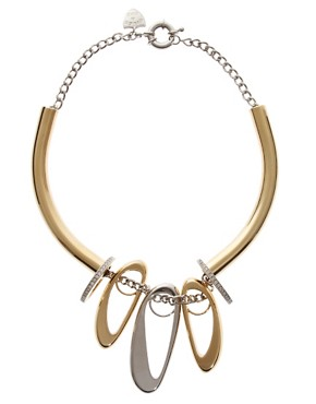 Image 2 of Giles & Brother Trove Ring Necklace
