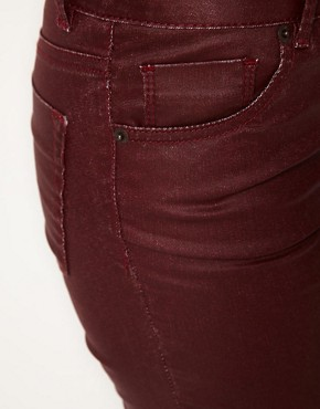 Image 3 ofWarehouse Coated Skinny Jean