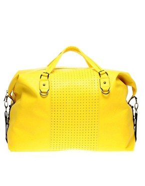 Image 1 ofASOS Oversized Punchout Holdall