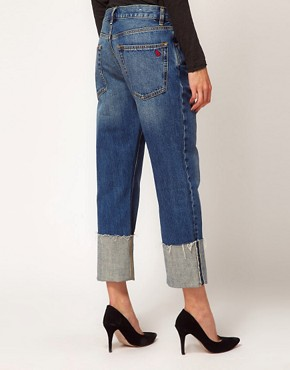 Image 2 ofMiH Jeans Phoebe Cuffed Boy Jeans
