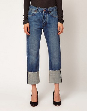 Image 4 ofMiH Jeans Phoebe Cuffed Boy Jeans