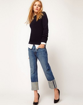 Image 1 ofMiH Jeans Phoebe Cuffed Boy Jeans