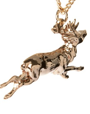 Image 4 ofAnd Mary Running Stag Necklace
