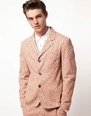 ASOS Slim Fit Floral Blazer
