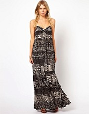 Denim & Supply By Ralph Lauren Printed Cotton Maxi Dress