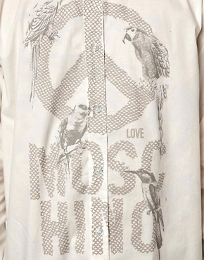 Image 3 ofLove Moschino Shirt with Bird Logo