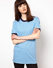 Pop Boutique T Shirt with Contrast Detail