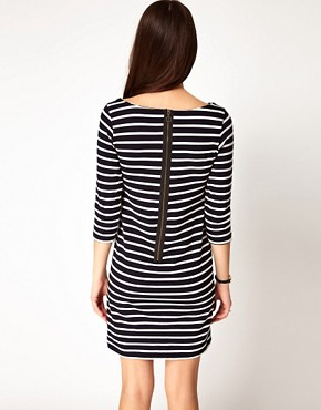 Image 2 ofGanni Nautical Straight Jersey Dress