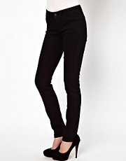 ASOS Elgin Supersoft Skinny Jeans in Black