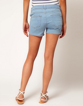 Image 2 ofASOS Maternity Exclusive Denim Short