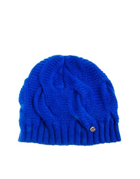 Image 2 ofTed Baker Purl Cable Knit Beanie Hat