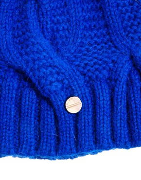 Image 3 ofTed Baker Purl Cable Knit Beanie Hat