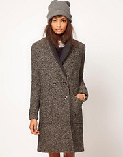 ASOS Limited Edition Rib Insert Coat