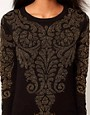 Image 3 of Glamorous Sweater in Metallic Baroque
