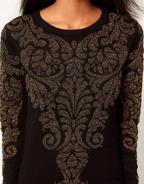 Image 3 ofGlamorous Jumper in Metallic Baroque