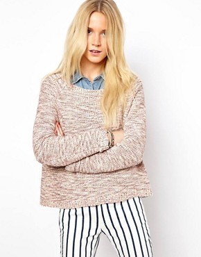 ASOS Premium Cropped Jumper In Twist Yarn