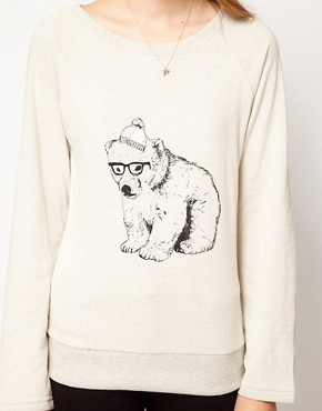 Image 3 ofBrat &amp; Suzie Polar Bear Sweatshirt