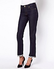 Vivienne Westwood Anglomania For Lee Skinny Jeans With Contrast Turn Ups