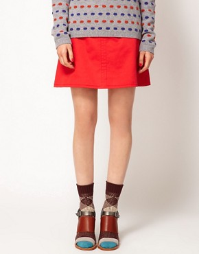 Image 1 ofEley Kishimoto Short Check Socks