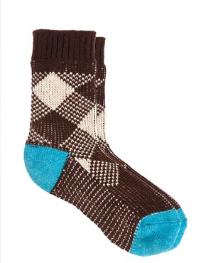 Image 4 ofEley Kishimoto Short Check Socks