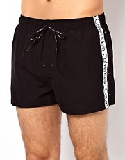 Calvin Klein Logo Tape Swim Shorts