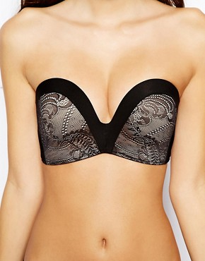 Image 3 ofWonderbra A-G The New Ultimate Strapless Lace Bra