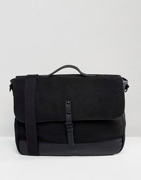 ASOS Satchel In Sleek Black Design