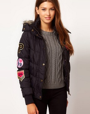 Image 1 ofPaul&#39;s Boutique Padded Logo Jacket
