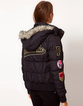 Image 2 ofPaul&#39;s Boutique Padded Logo Jacket