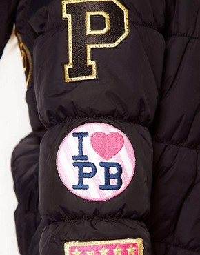 Image 3 ofPaul&#39;s Boutique Padded Logo Jacket