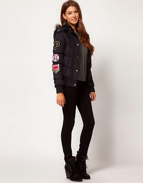 Image 4 ofPaul&#39;s Boutique Padded Logo Jacket